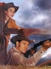Chuck Connors, Johnny Crawford - The Rifleman (1959) - 8 1/2 X 11