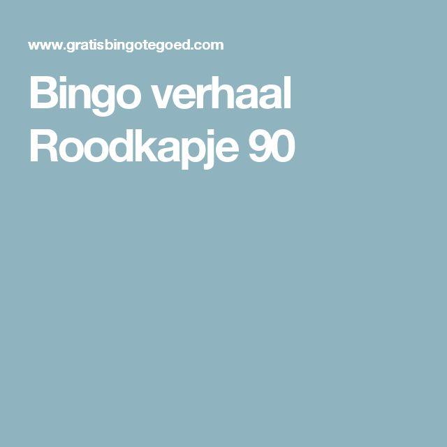 Bingo verhaal Roodkapje 90