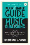 Backbeat Books - The Plain and Simple Guide to Music Publishing, 3rd Edition - Blue/Black/White