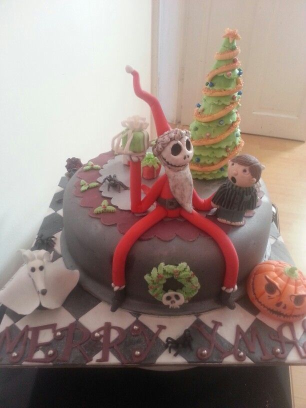 42 best Skellington nightmare before Christmas ideas for cake