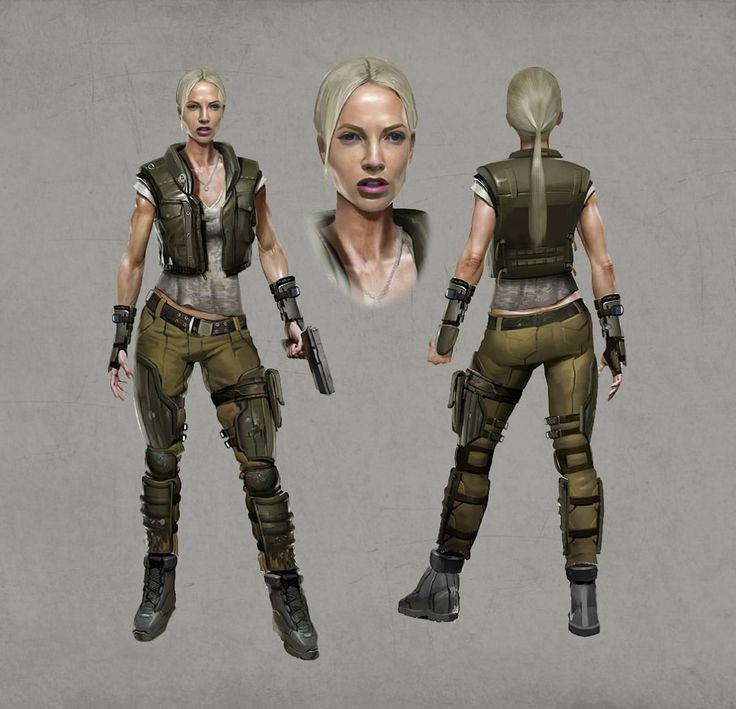 Major Sonya Blade Concept