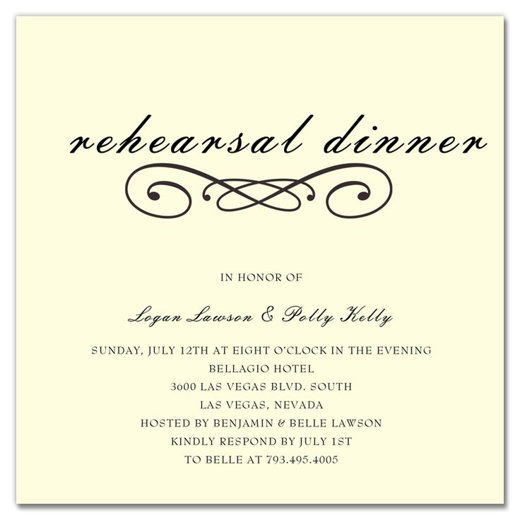 25+ melhores ideias de Rehearsal dinner invitation wording no - dinner invitation template