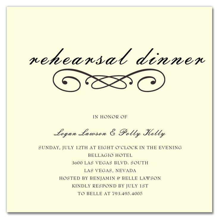 best 10+ rehearsal dinner invitation wording ideas on pinterest, Wedding invitations