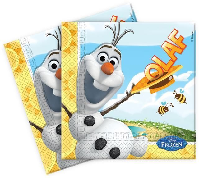 Disney Frozen NEW Olaf Summer Party Paper Lunch Napkins x 20 #Procos #AllOccasions