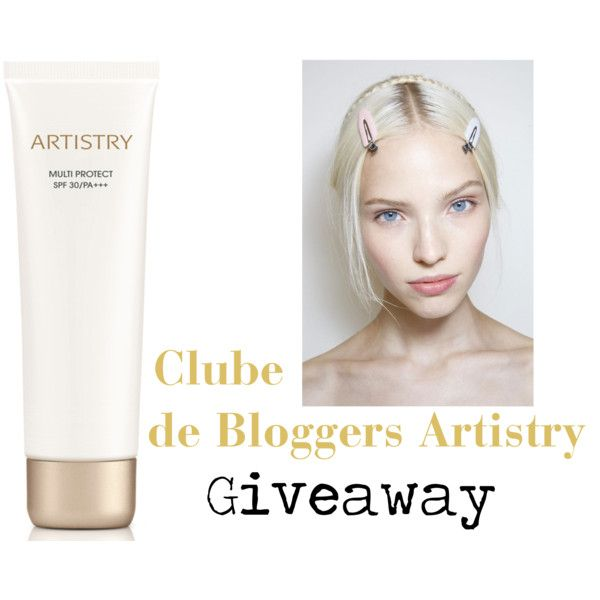 Giveaway♥Clube de Bloggers Artistry #6 by blogelectricvanilla on Polyvore featuring beleza