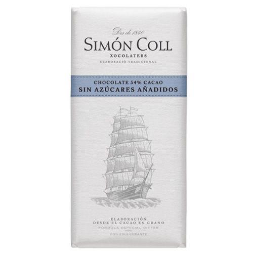 Simon Coll 85g. Ciocolata neagra FARA ZAHAR ADAUGAT