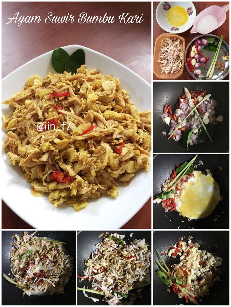 Ayam Suwir Bumbu Kari