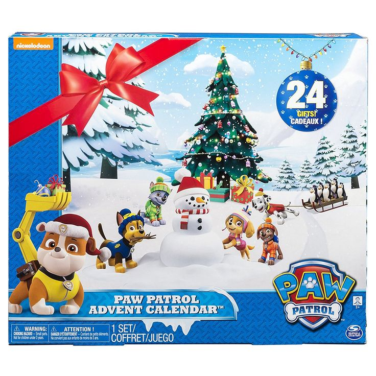 Paw Patrol Look-Out-Advent Calendar - $22.49!