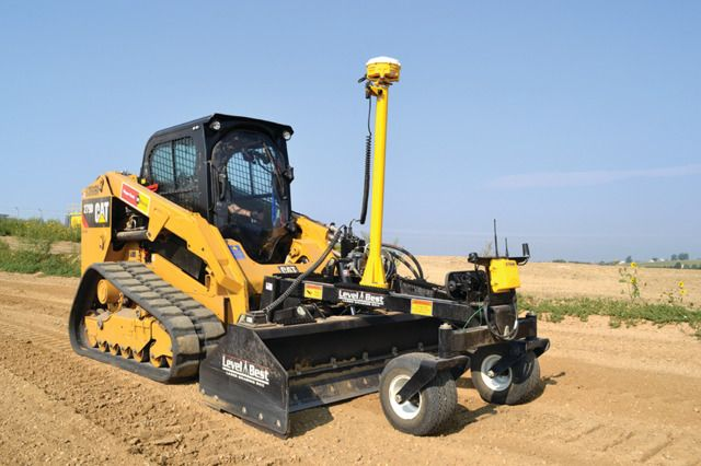 Trimble Earthworks GO! Grade Control for Compact Equipment
