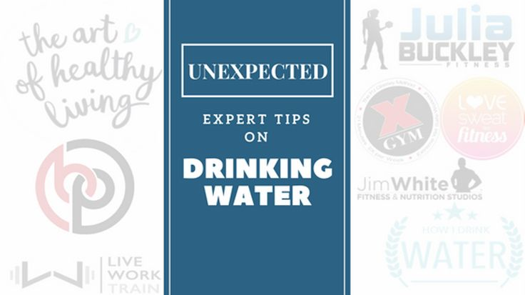 I asked all the top health and fitness bloggers one simple question: how do you drink water? Here are some of the WEIRD and UNEXPECTED answers they gave...