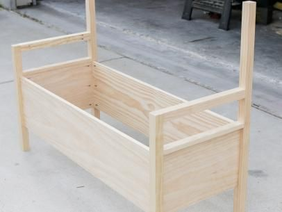 DIY Outdoor Storage Bench: Construct the Carcass