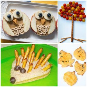 Fun Fall Food Creations for Kids