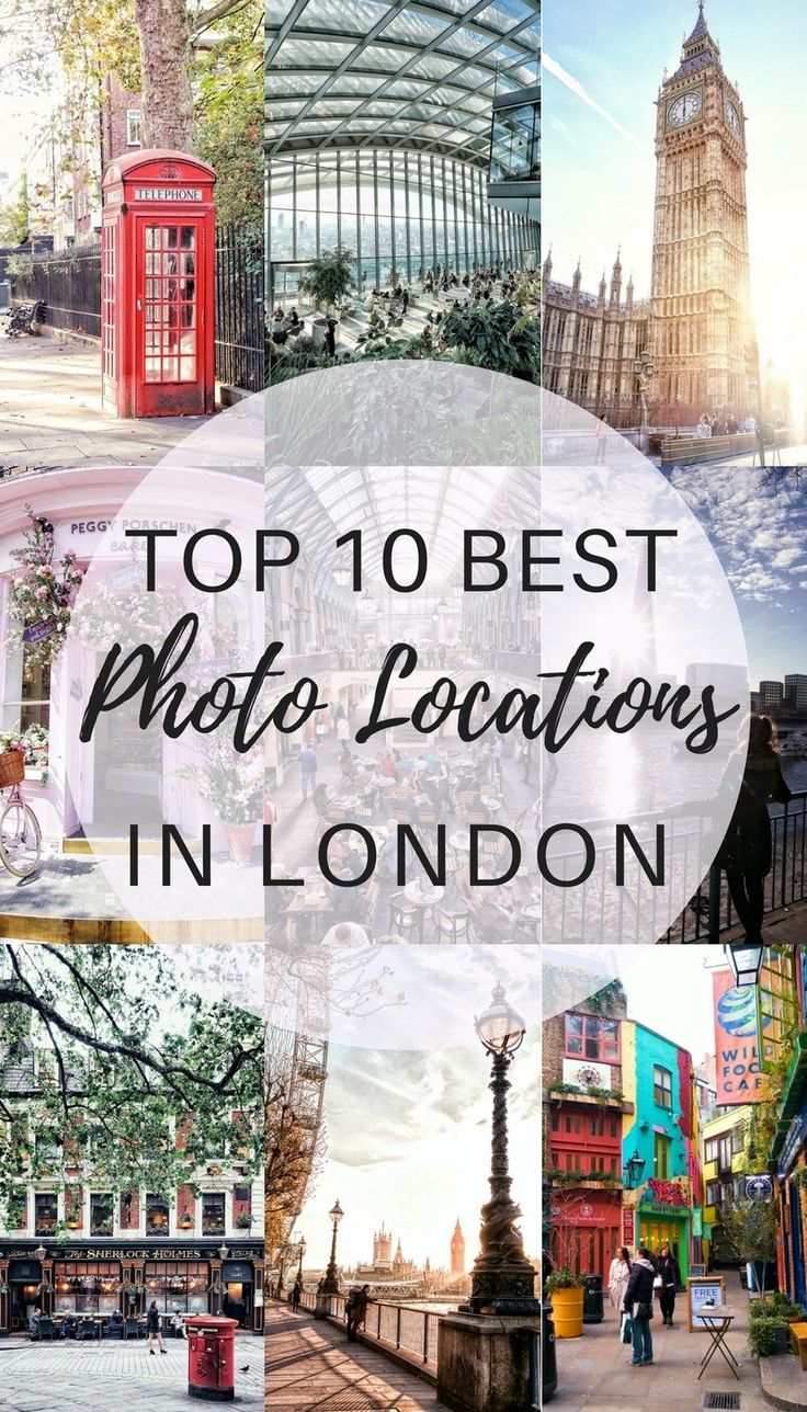 TOP 10 ICONIC PHOTO LOCATIONS IN LONDON #iconis …