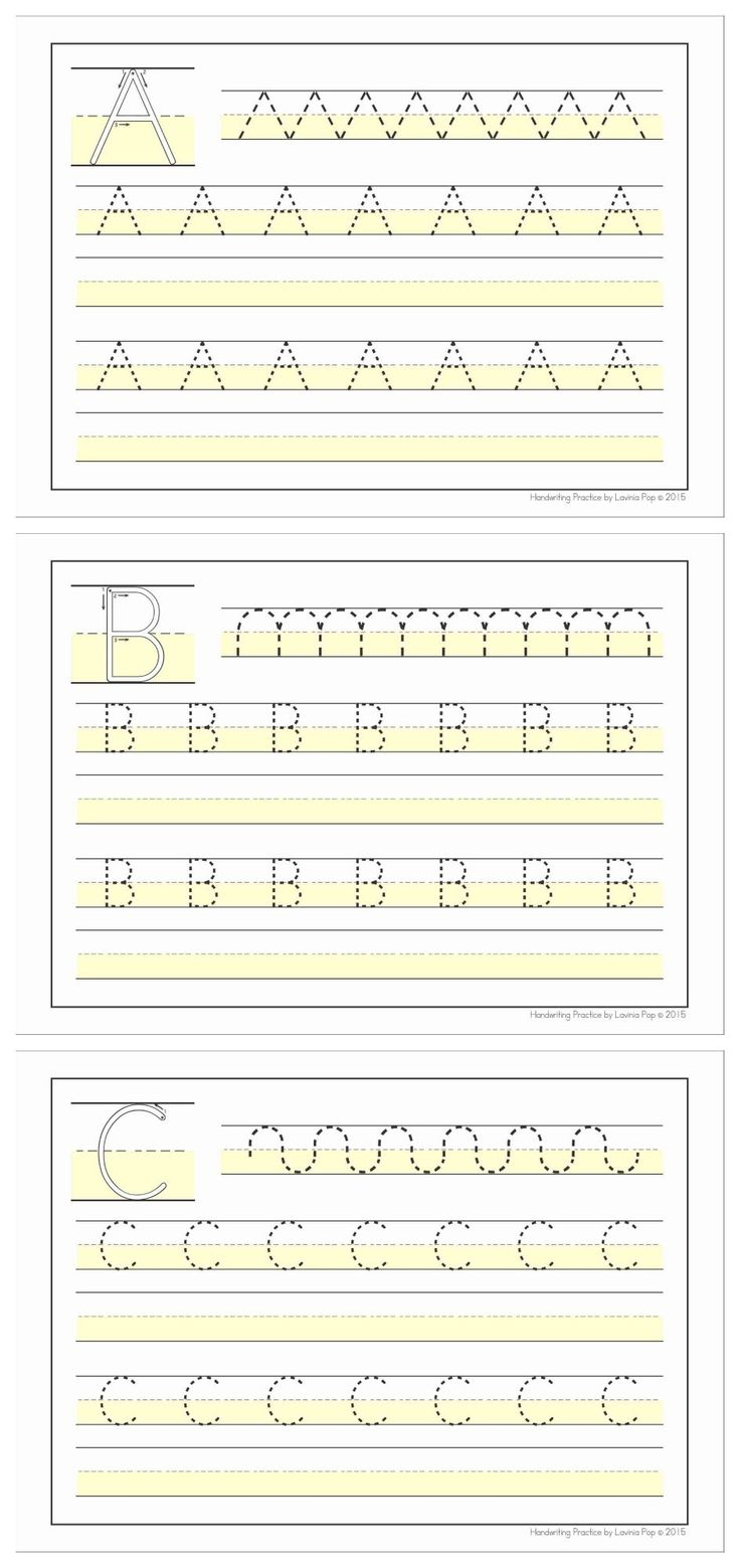 Handwriting SOS - Upper Case Letter Size Differentiation. Great for children who need help with letter placement on the handwriting line!