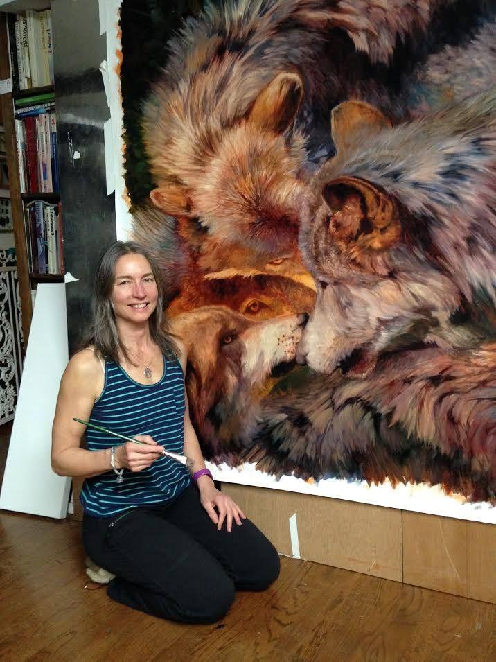 El Hurgador [Arte en la Red]: Julie Bell [Pintura]