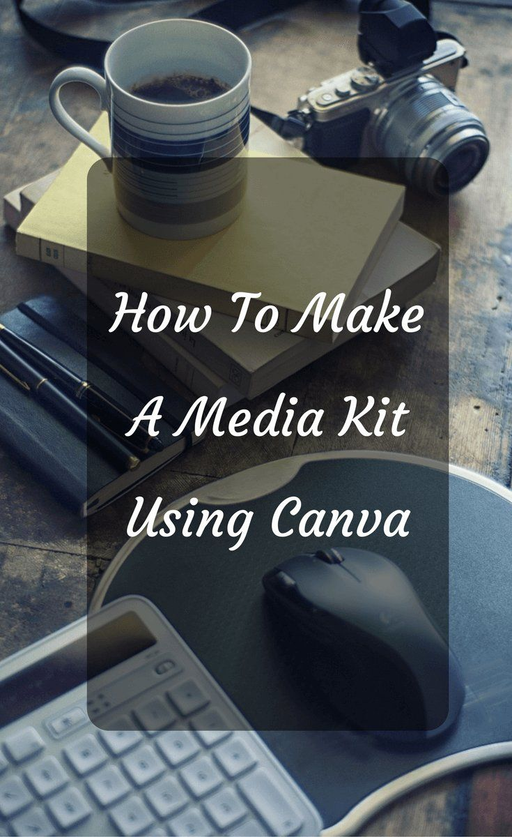 How to Make a Media Kit On Canva
