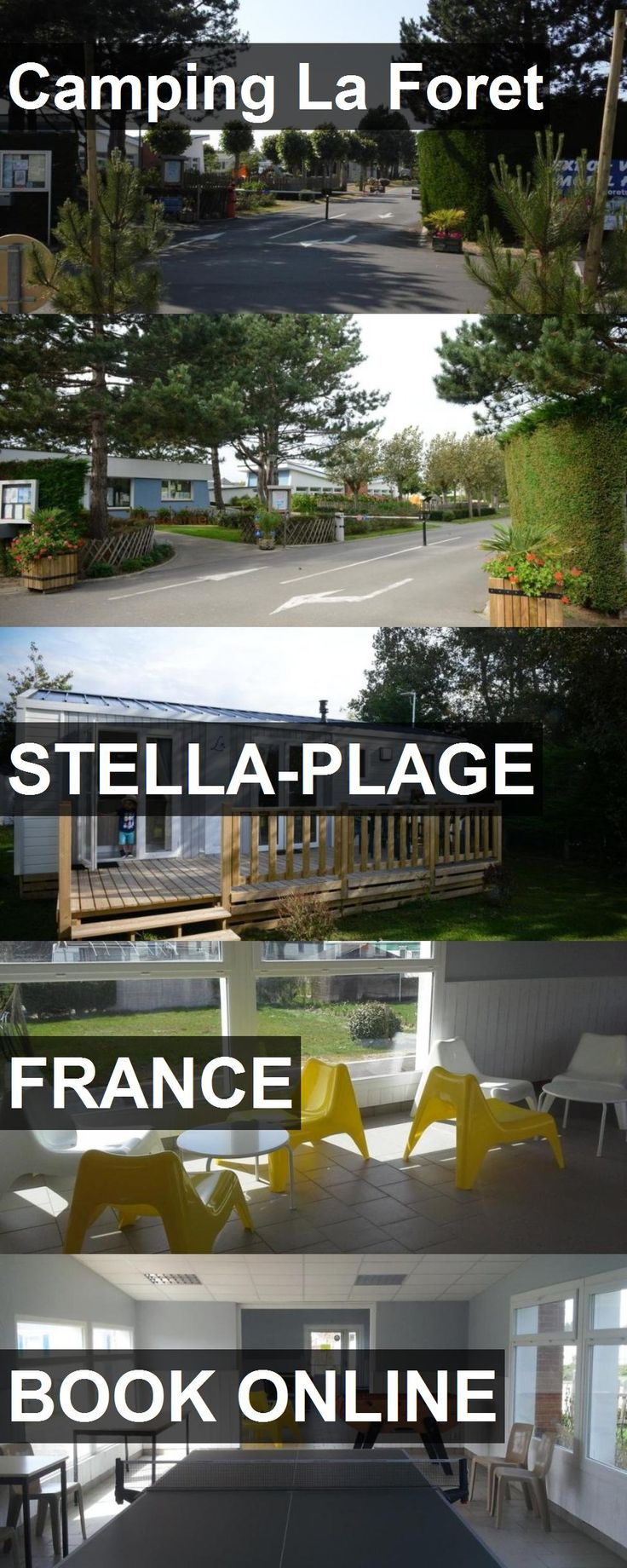 Hotel Camping La Foret in Stella-Plage, France. For more information, photos, reviews and best prices please follow the link. #France #Stella-Plage #CampingLaForet #hotel #travel #vacation