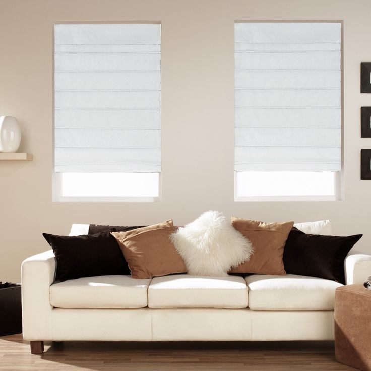 Pottery Barn Roman Shades Blinds for windows, Blinds