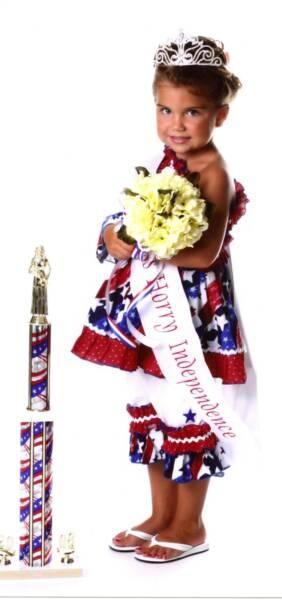patriotic pageant wear?