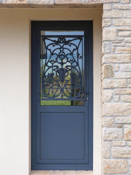 25 best ideas about porte d entree vitree on pinterest for Porte en fer forge exterieur