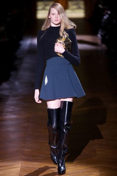 Carven | Fall 2014 Ready-to-Wear Collection | Style.com [Photo: Kim Weston Arnold / Indigitalimages.com]