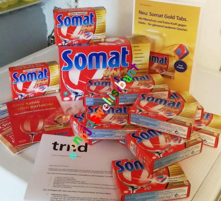 SonnjasWeltistbunt: NEU!! Somat Gold Tabs