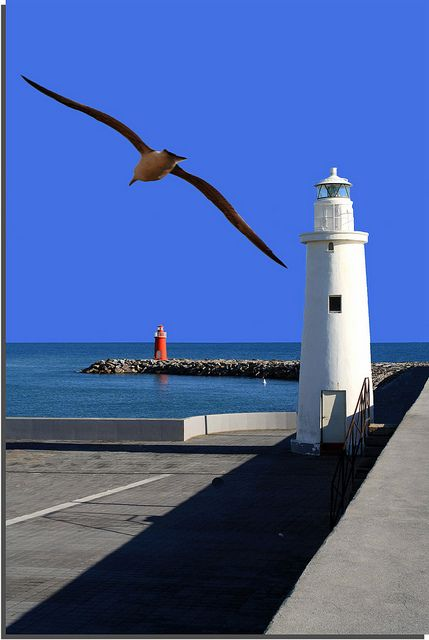 *Lighthouse - Italy, province of Imperia Liguria