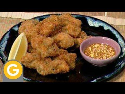 Ohno - Ostras fritas estilo japonés  Ensalada de tomate con salsa ponzu - YouTube
