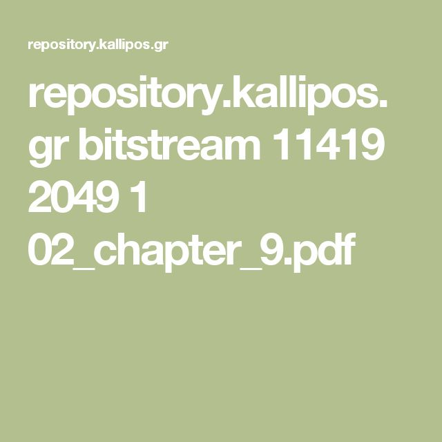repository.kallipos.gr bitstream 11419 2049 1 02_chapter_9.pdf