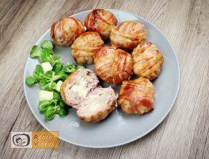 Mit Käse gefüllte Fleischbällchen im Speckmantel – RezeptVideos.com