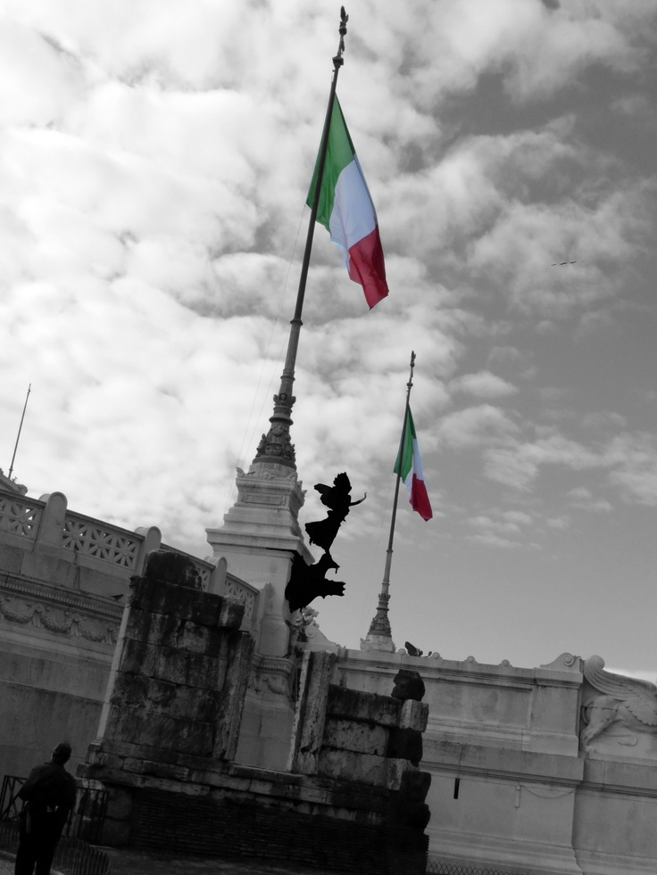 once was Delight • Altare della Patria, Rome