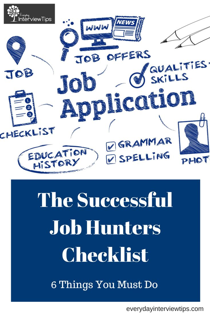 17 best images about resumes resume tips interview successful job seeker checklist everydayinterviewtips com top