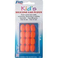 Ear Plugs / EarPlugs Kids Soft Silicone - 6 pairs by Flents. $4.28. INDICATIONS:  Flents Kids Silicone Ear Plugs help keep ears dry by sealing out water to protect the ear canals. Suitable for use with pressure-equalizing tubes. They are safe and effective, and re usable.