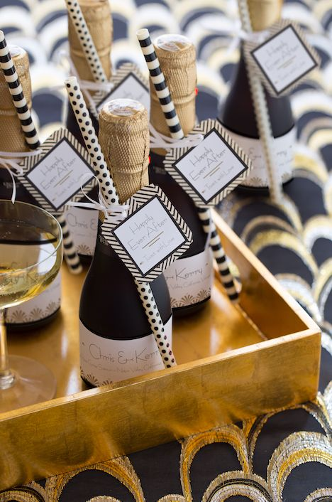 Vintage Inspiration: Gatsby inspired favors and escort cards!