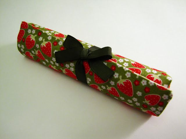 Мастер класс: шьем пенал для карандашей :: Красивые Игрушки Затинацкой Натальи