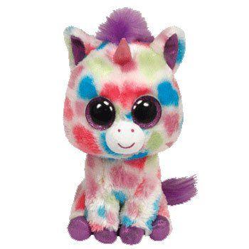 Giant Stuffed Animals | Ty Beanie Boos Wishful Plush Unicorn - Unicorn Stuffed Animals