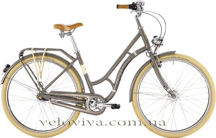 "Купить женский велосипед Summerville N7 Колёса - 26""  Стиль езды - City Bike with Modern Amenities  Монетки - Shimano 7-speed  Покрышки (комфорт) - Schwalbe Big Apple  Свет на велосипеде - Lighting with Dynamo Hub"