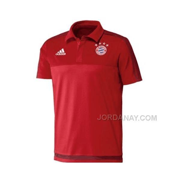 https://www.jordanay.com/1516-bayern-munich-red-training-polo-shirt.html Only$55.00 15-16 BAYERN MUNICH RED TRAINING POLO SHIRT Free Shipping!