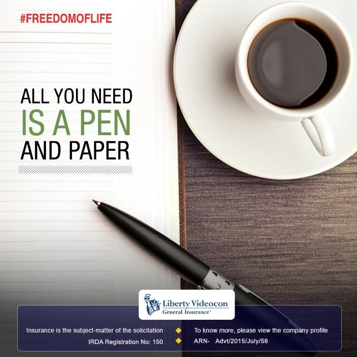 The purest outlet for self expression is writing. Put the pen on pad and let your thoughts flow through the paper. #FreedomOfLife
