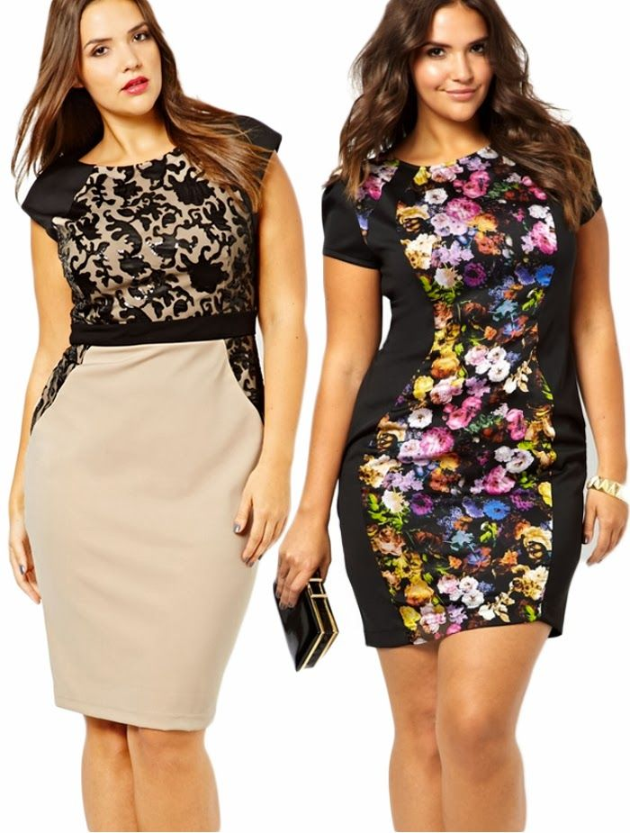 DIY FATSHION - Little Mistress Curvy plus size dress, psblogger