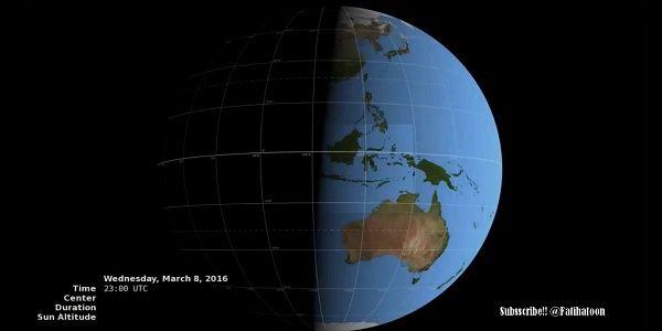 Ολική έκλειψη Ηλίου θα τελειώσει πριν αρχίσει