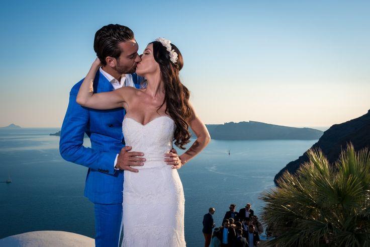 Kisses, Sweet, In Love, Nature, Moments, Joy, Real, Forever, Bride And Groom, Caldera, Santorini Weddings