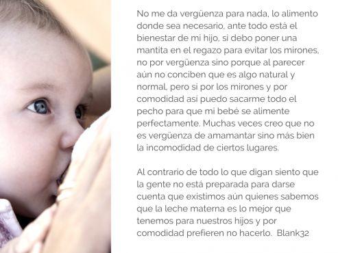 ¿Sienten las mamás vergüenza de amamantar en público? | Blog de BabyCenter