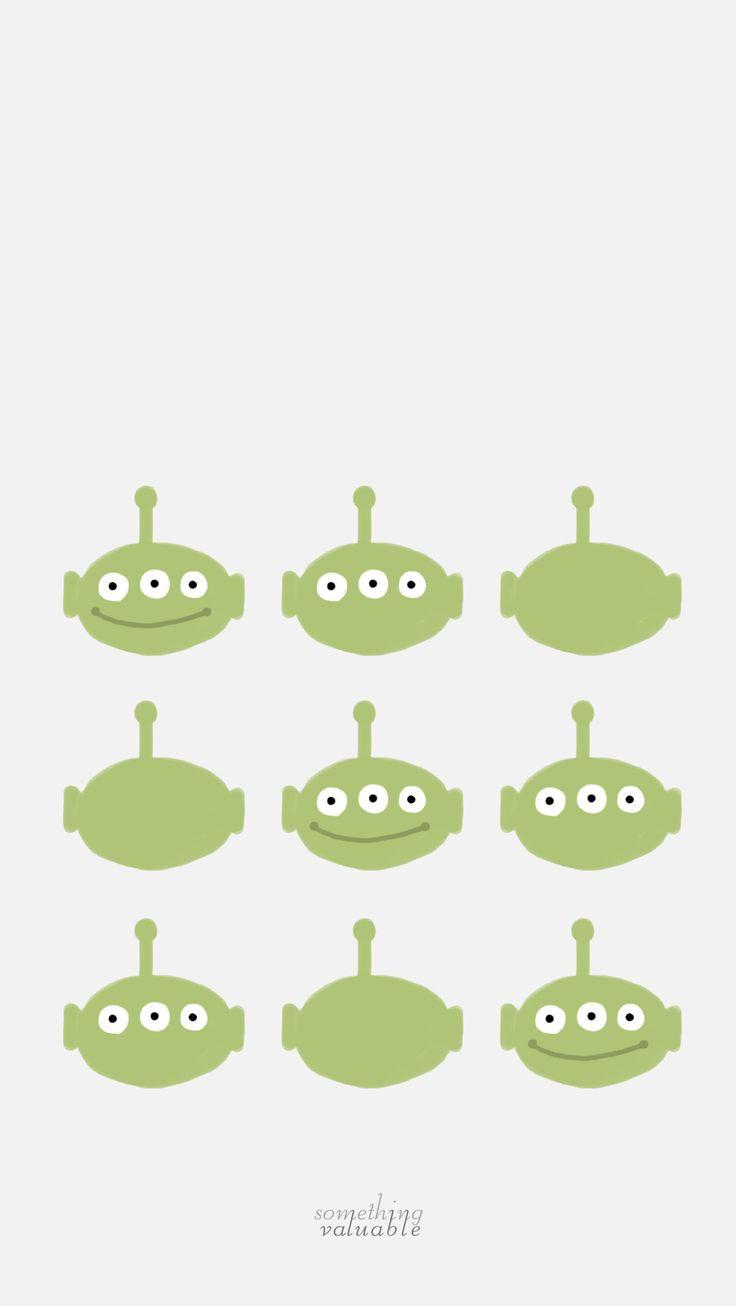 IPhone Wallpaper Design O Toy Story Alien Blognaver
