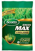 Essential nutrients for deeper greening in 3 days 2-in-1 formula! Dual action not only supplements your lawn with iron, it also feeds it Kid and pet friendly when used as directed Recommended for many lawns as part of the Scotts Lawn Care Plan.