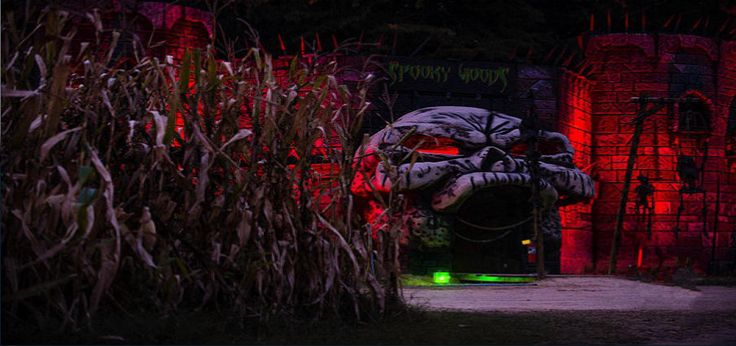 Kersey Valley Spookywoods, Directions, Haunted House NC, Map