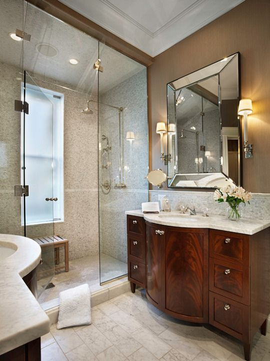 919 best Master Bathrooms images on Pinterest Master bathrooms