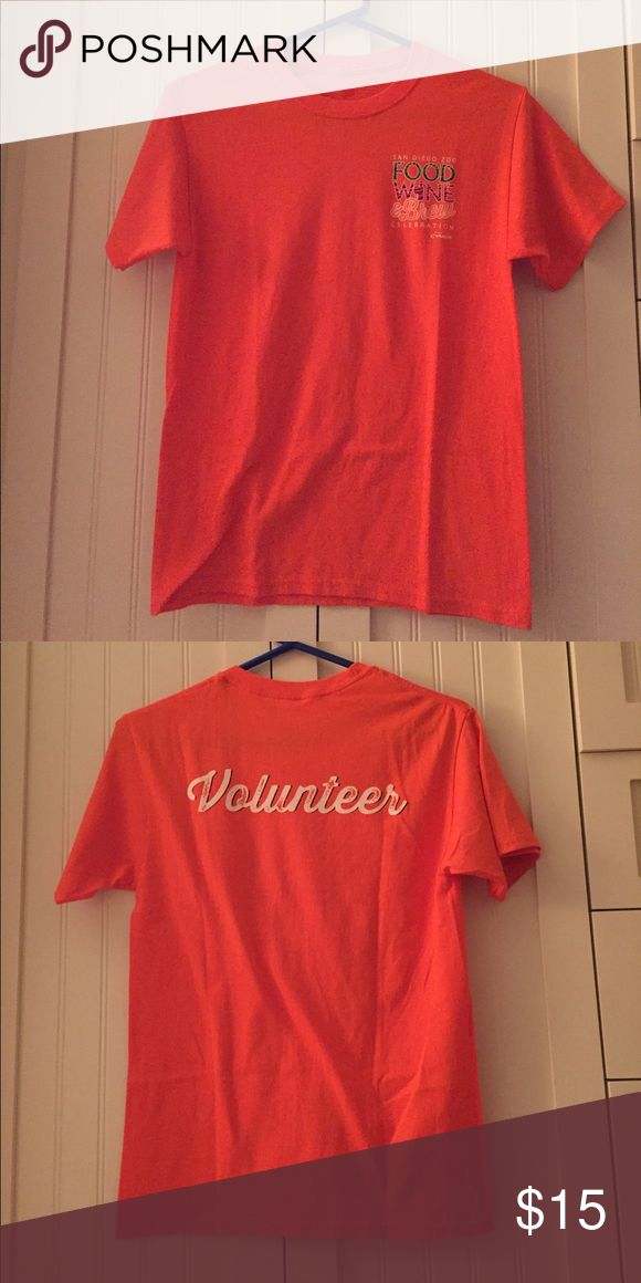 San Diego Zoo Food & Wine Festival Volunteer shirt Orange San Diego Zoo Food & Wine Festival Volunteer shirt, size small Hanes Shirts Tees - Short Sleeve