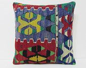bedroom pillow cover 18x18 boho bedding moroccan floor cushion throw pillow bohemian pillow cover kilim pillowcase couch throw pillow 20298
