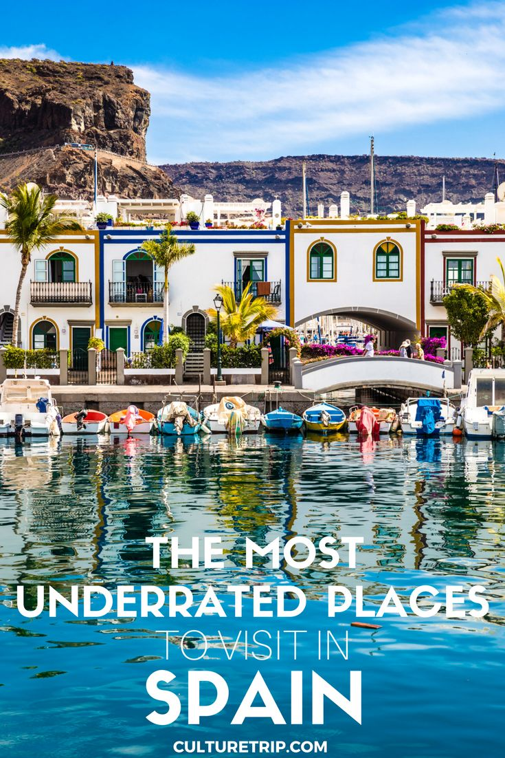 Spain Travel Inspiration - The Most Underrated Places To Visit in Spain|Pinterest: @theculturetrip